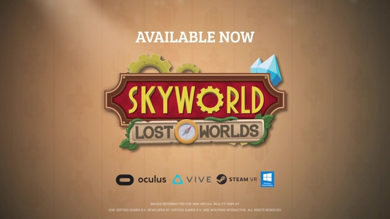 Бесплатное обновление Lost Worlds для игры Skyworld!