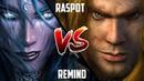 WC3 ReMinD Night Elf vs. Raspot Human BlizzCon 2010 G3 Warcraft 3