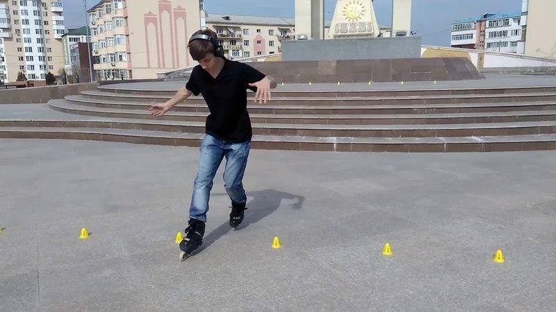 Skate in Taraz city. Part 1  Покатушки в городе Тараз. Часть 1