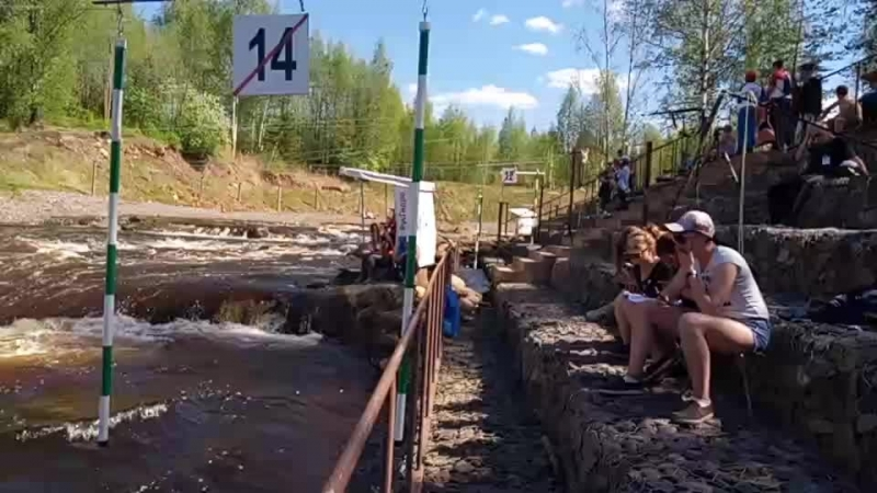 Полуфинал ЧМ России Гребной слалом