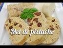 Gâteau ou met de pistache (graine de courge)