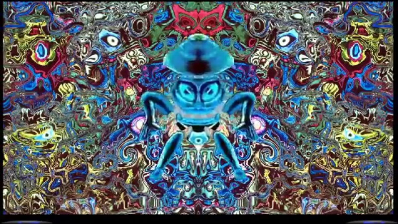 Shrooms and DMT Flashback! (Shpongle- Divine Moment of Truth)HD