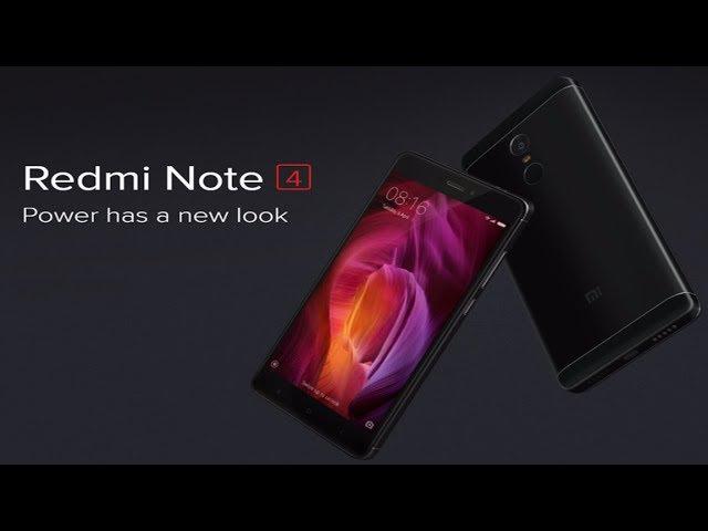Xiaomi Redmi Note 4 64GB 4GB Smartphone Snapdragon 625 Octa Core 5.5 1080