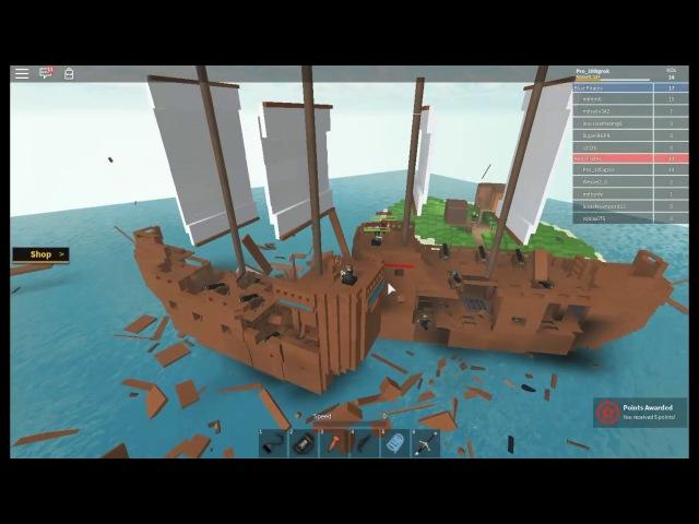 Пираты Карибского моря в Роблокс (Pirate Island Wars)