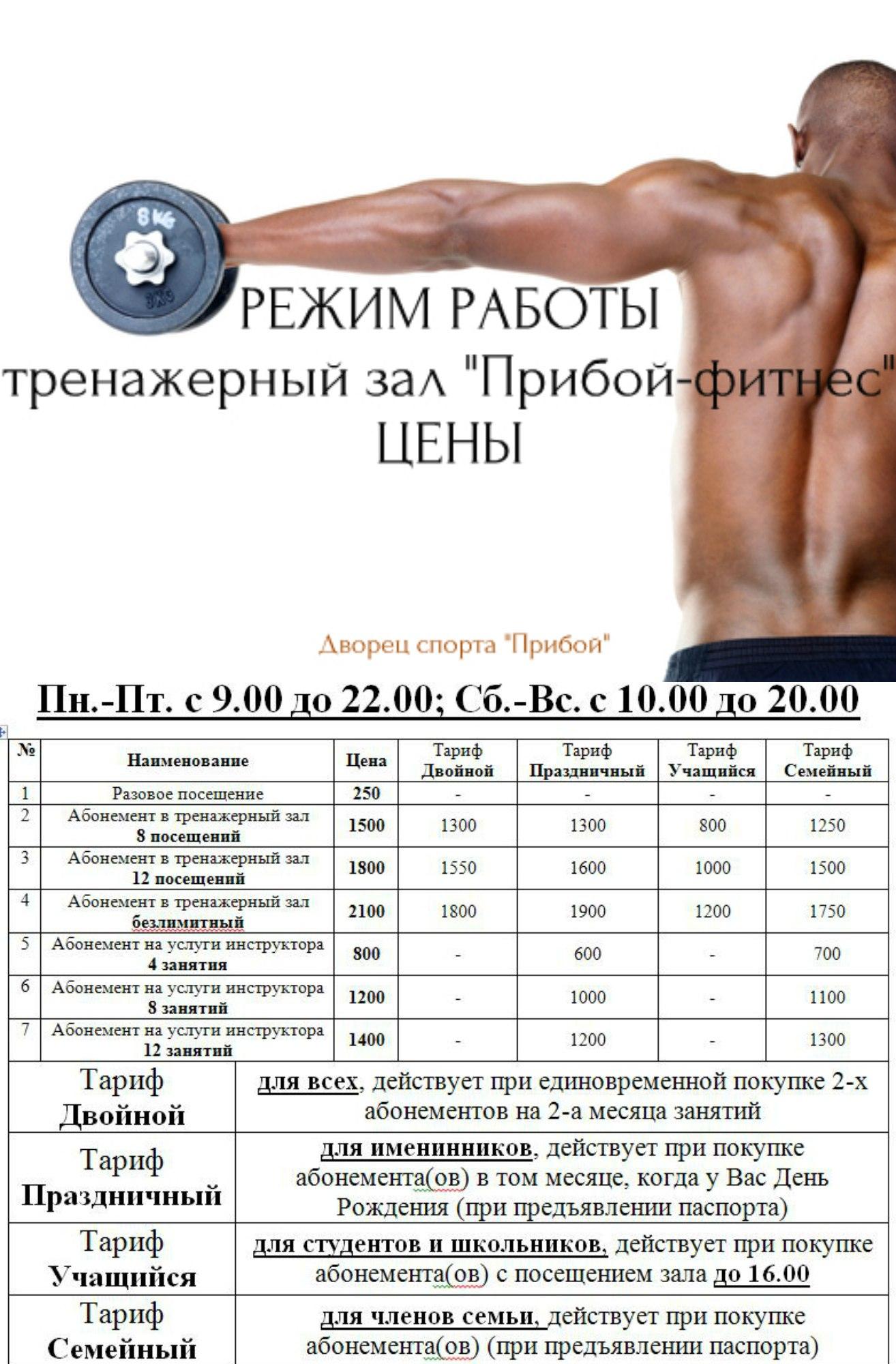 Прибой Фитнес, Таганрог