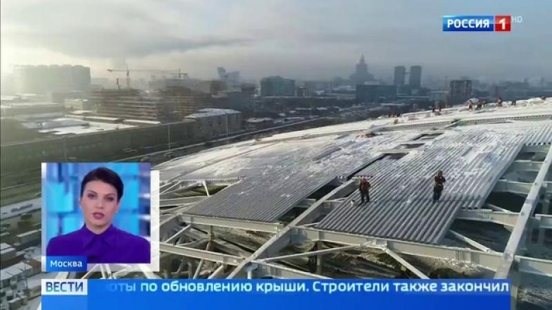 Вести Москва Реконструкция стадиона Динамо вышла на финишную прямую смотреть онлайн без регистрации