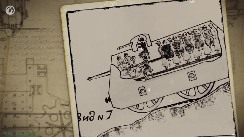 Самые странные боевые машины мира Бронепоезд-танк Метеор (Познавательный, оружие)