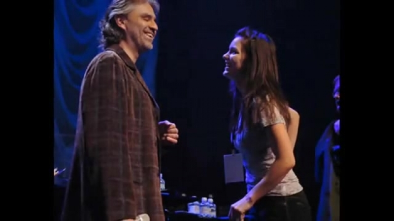 Katharine McPhee Andrea Bocelli - Cant ...g In Love (720p).mp4