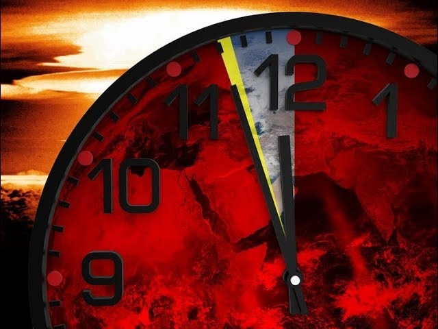 Doomsday Clock Approaches Midnight-Nibiru Planet X Disclosure-Arctic Anomaly Stuns Scientists
