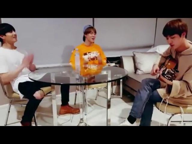 BTS [ENG SUB] - Jongkook Jin Jim spring day