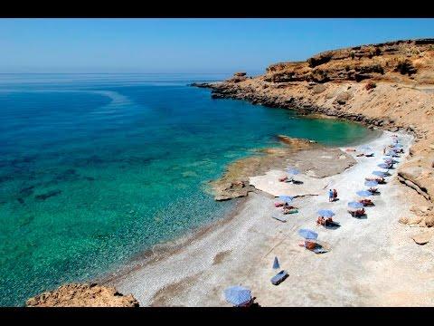 Naturist Beach Filaki In Crete, Greece