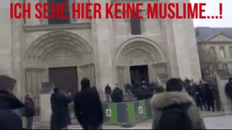 Ich sehe hier KEINE Muslime....