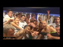 TV Partizan Slavlje u svlačionici Partizana nakon ulaska u Ligu Evrope