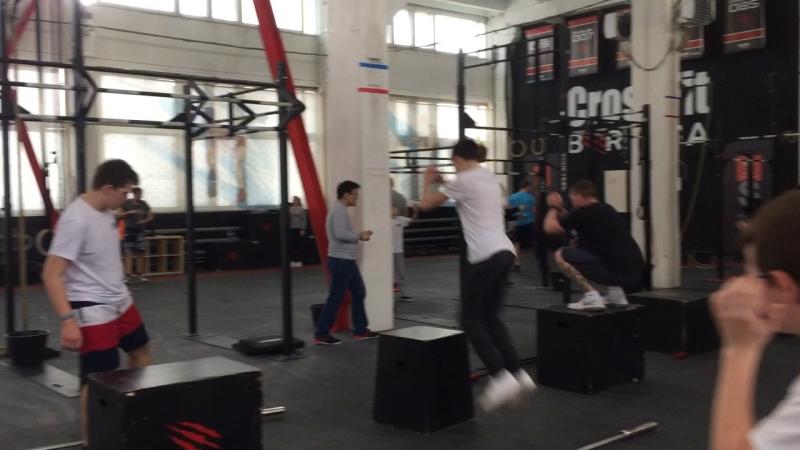 Тренировка в CrossFit Berloga