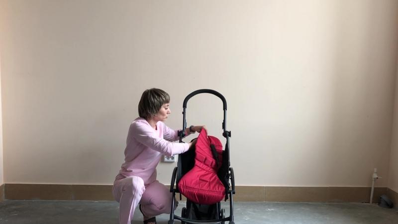 Как одеть текстиль на коляску baby time