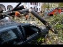Ураган Герварт в Европе. In Europe, the HERVART is hurling.