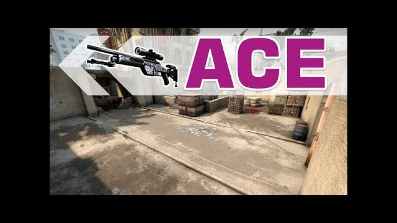 BIG ACE With SSG 08 on New_dust2