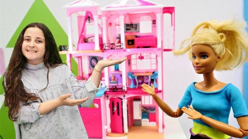 Kız oyunu. Barbienin gerçek evini temizliyoruz!