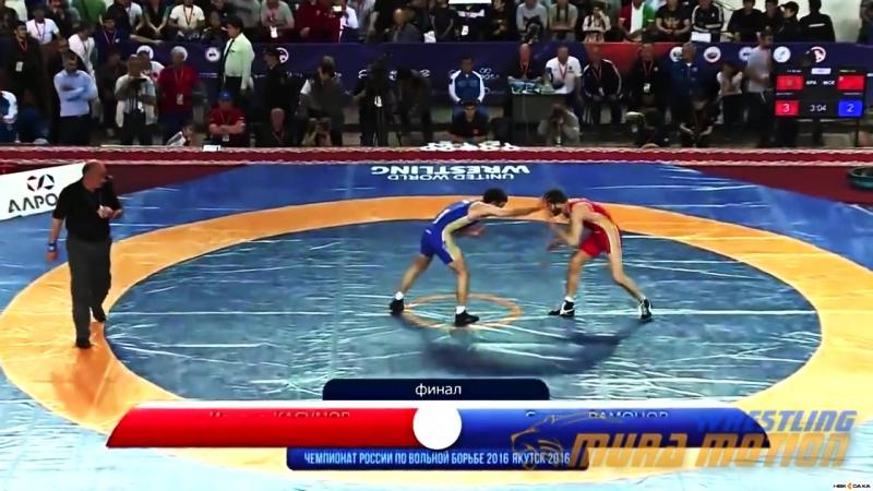 (Ossetia) Рамонов Сослан vs (Chechnya) Касумов Исраил