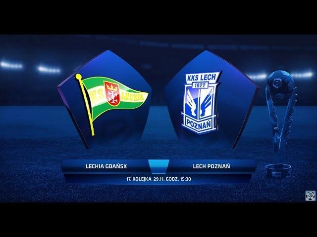 Lechia Gdańsk - Lech Poznań 0:1 [skrót] sezon 2015/16 kolejka 17