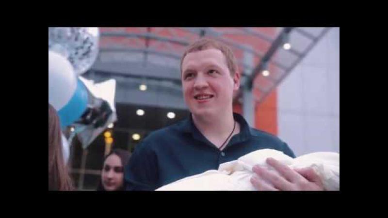 Демид едет домой Видеосъёмка выписки из роддома в Краснодаре смотреть онлайн без регистрации