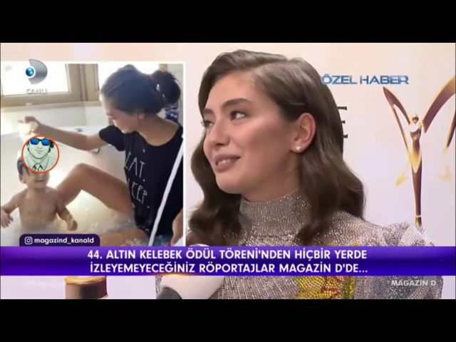 Neslihan Atagül Bebek Özlemi, Altın Kelebek Ödül Töreninde İlk Kez Açıkladı