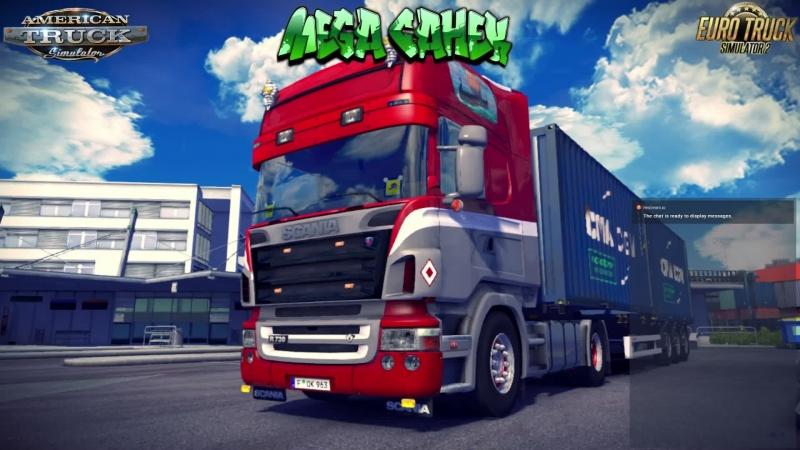 Конвой в Euro Truck Simulator 2 от D A N S★T R A N S 10.04.2018