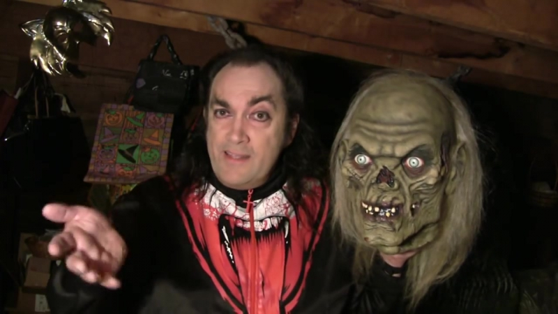 Mask Fan Attic- Tales From The Crypt Crypt Keeper...