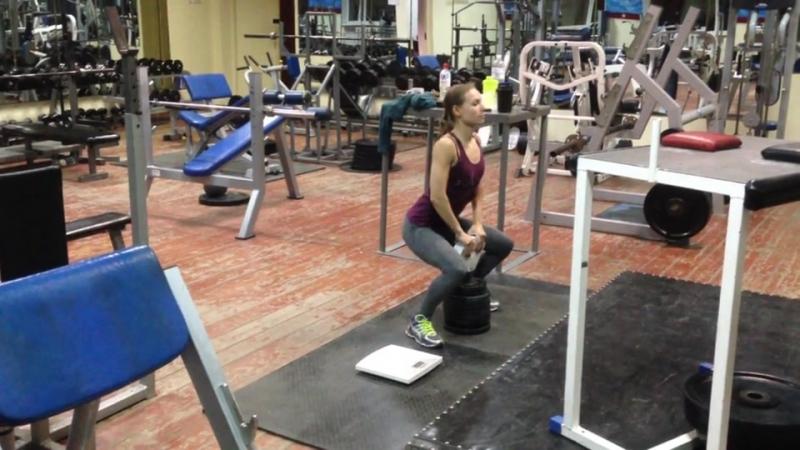 Diana Krahmatova - 45,3kg Flask 2HP (48kg b.w.)