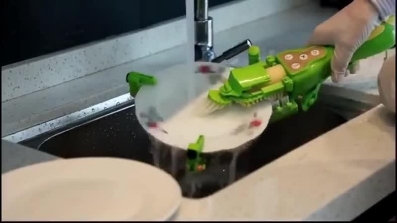 Ручная посудомоечная машина!