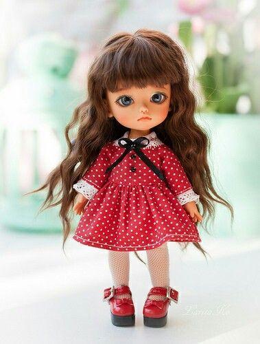 Милые шарнирные куколки.