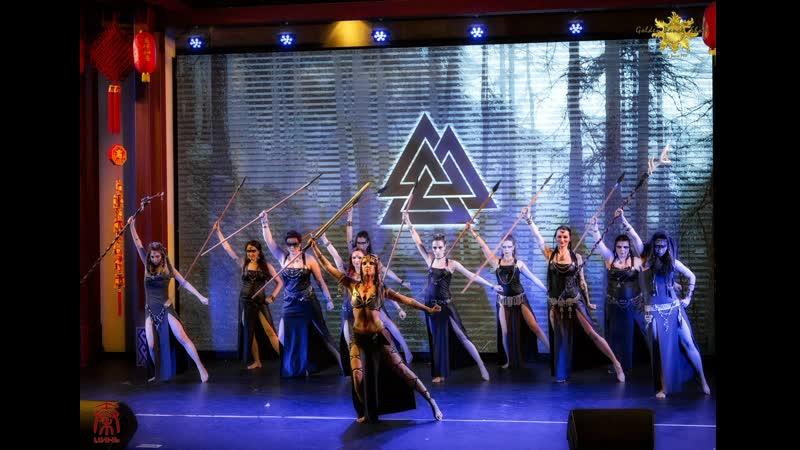 Пророчество Грипира Соло Nefru Merit @ Dragonfly Tribe @ Golden Dance show 17.03.19