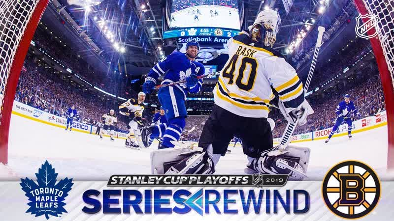 SERIES REWIND Bruins outlast Maple Leafs in seven games for second straight year