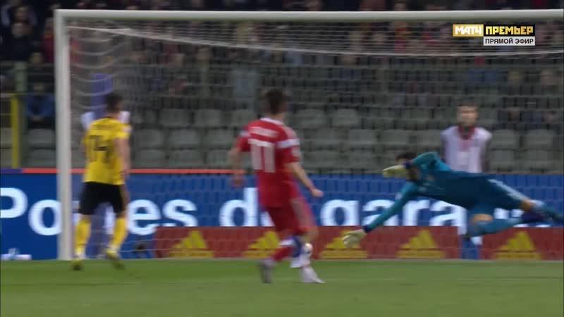 Бельгия Россия 1 0 Юри Тилеманс