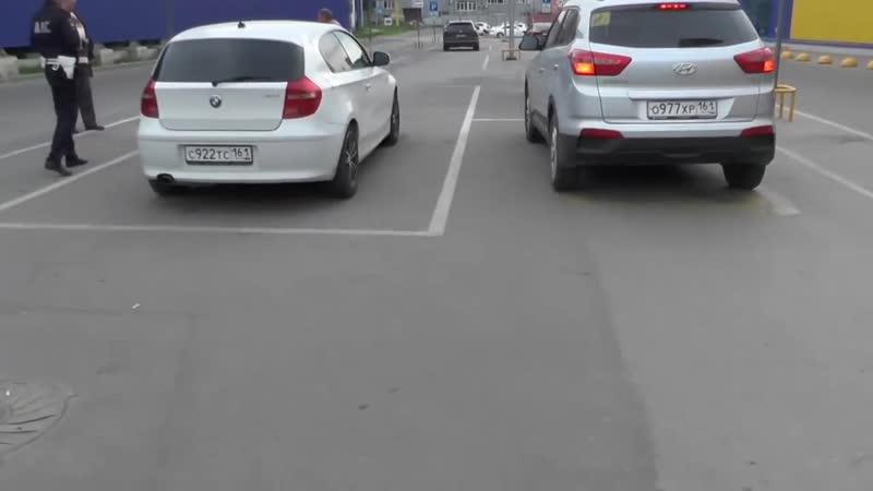 ♐Стоп Хам Псевдо инвалидов эвакуировали с парковки у ЛЕНТЫ в Ростове♐