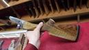 Приклад и цевье на заказ в стиле Немецкого ружья для отечественного ИЖ 58 из Тигрового Ореха