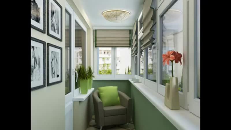Идеи интерьеров для балконов и лоджий-Идеальный ремонт