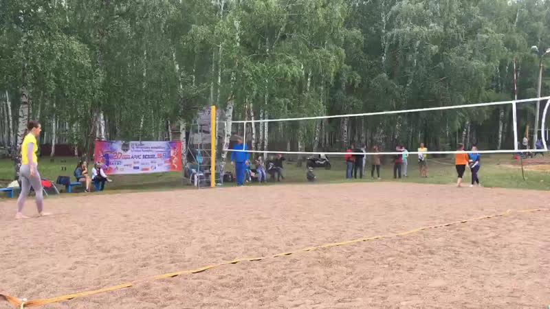 III Открытый Кубок по пляжному волейболу в Кумертау среди женщин. Площадка 1