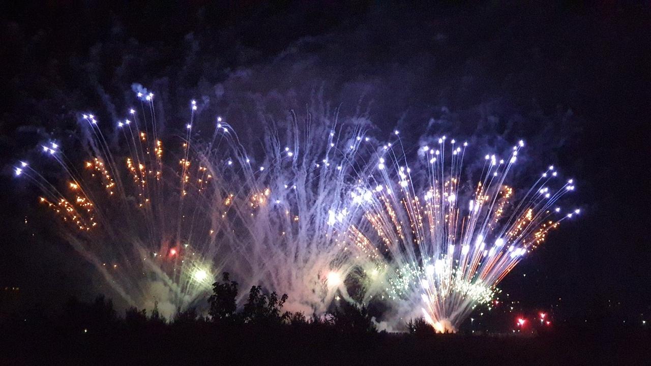 Гром салютов в Дубне. В наукограде прошел всероссийский фестиваль фейерверков | Видео
