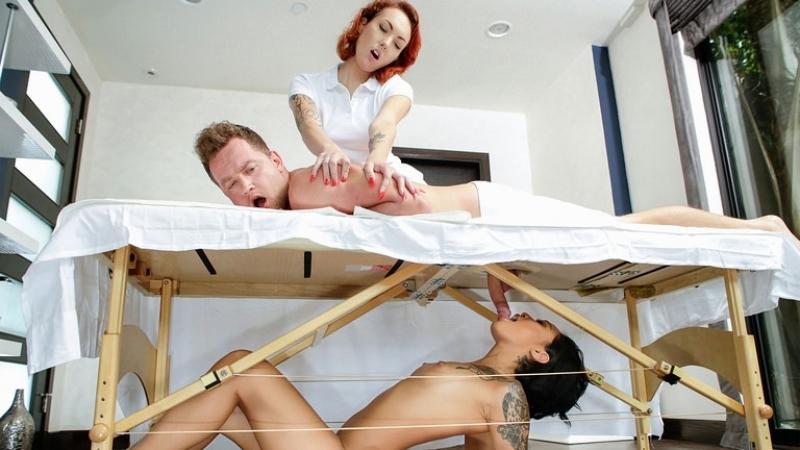Honey Gold asian massage sex