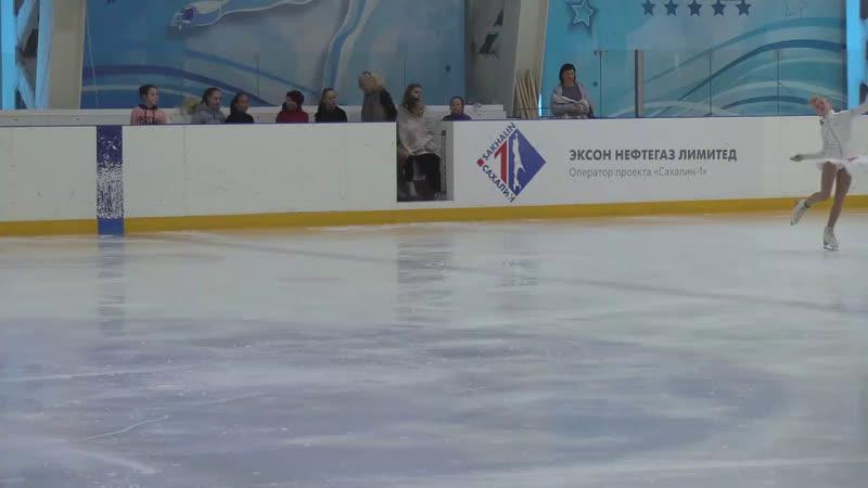 Открытое классификационное первенство г Холмск по фигурному катанию на коньках посвященное Дню защиты детей
