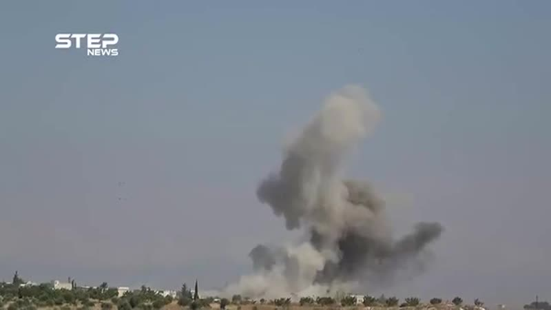 Russian warplanes have launched dozens of air raids on cities and towns in northern Hama including Latamna Kafarzita Zakat H