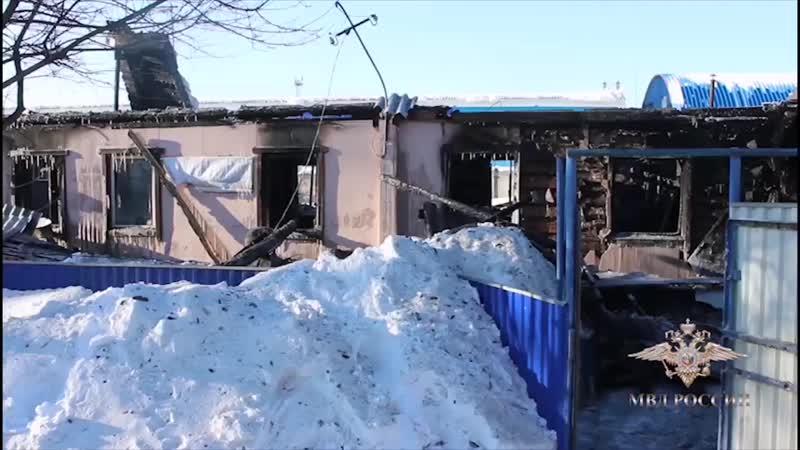 В Кемерове полицейские спасли из пожара мать с ребёнком