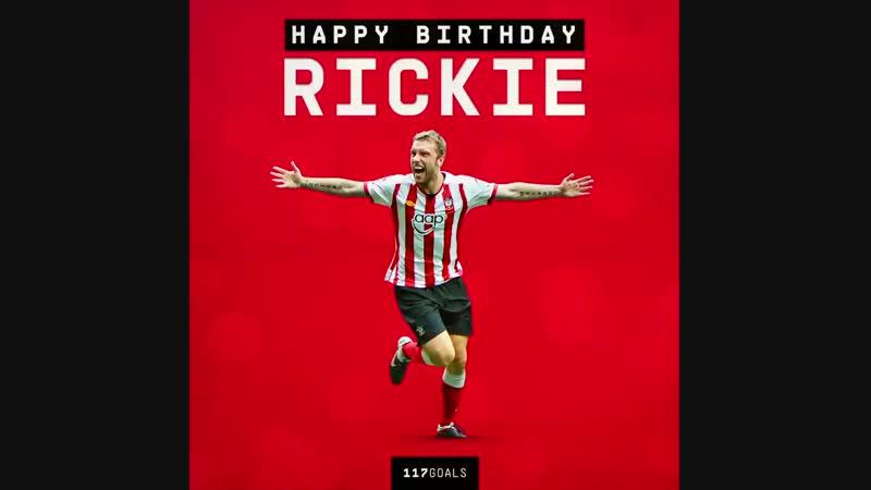 2️3️5️ appearances 1️1️7️ goals A lifetime of memories in a SaintsFC shirt Happy 3️7️th birthday Rickie ️ mp4