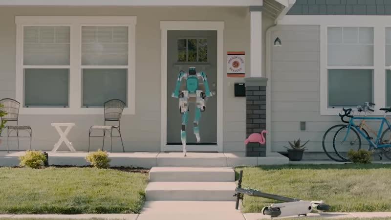 Робот-доставщик Ford Motors и Agility Robotics будет ездить на беспилотных автомобилях и доставлять покупки на дом