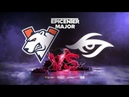 Virtus.pro vs Team Secret, EPICENTER Major, bo3, game 1 [Smile Eiritel]