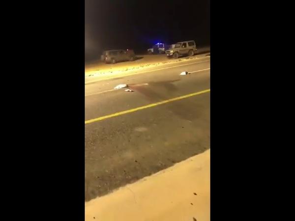 حادث تصادم في الطائف يسفر عن 9 إصابات ووفاة ش