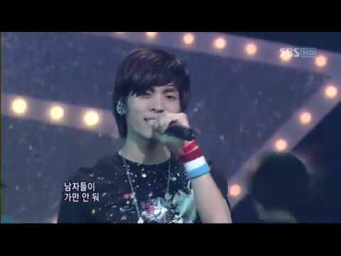 【LIVE 】080525 샤이니 SHINee Replay(누난너무예뻐)DEBUT STAGE