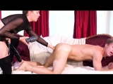 Kasey Warner Pegs Michael Vegas with a Huge Strapon and Fucks him strapon domination, fisting anal