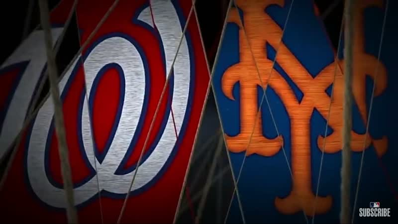 MLB | Nationals vs Mets | RS 2019